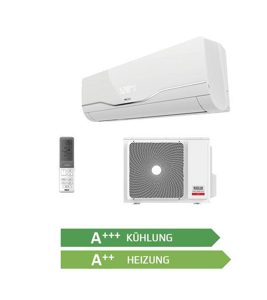 Klimagerät Paket Riello Energieeffizienz KühlungA+++, Heizung A++